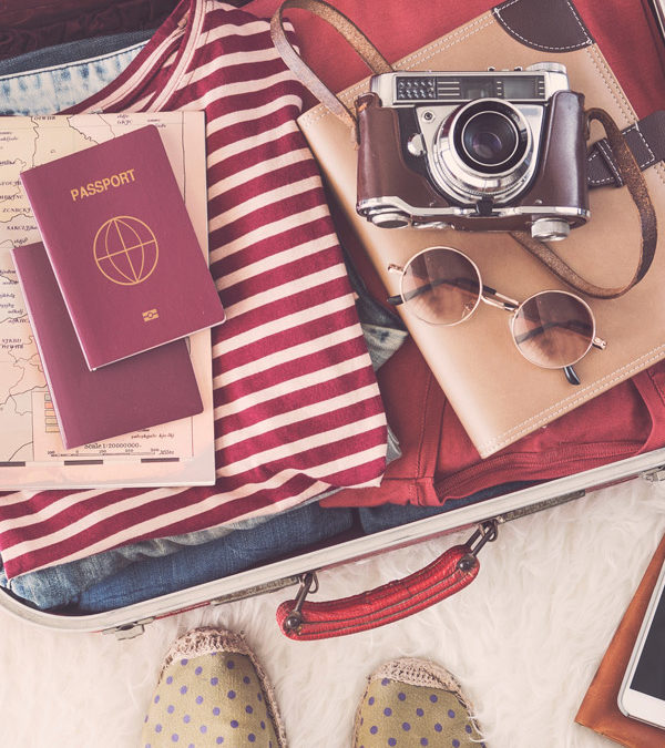 Top tips for travelling light
